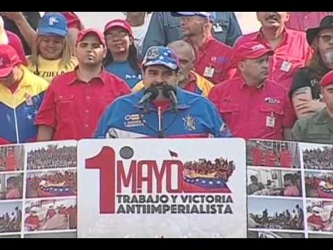 Discurso completo del Presidente Nicolás Maduro, 1 de mayo de 2015