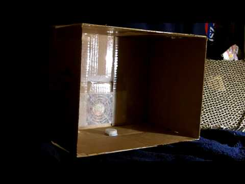 Custom Homemade Spray Booth Test for Airbrushing Small Model Kits