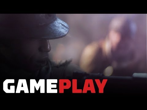 Battlefield 5 Campaign: 6  Minutes of Autumn Woods Gameplay ('Tirailleur' Mission)