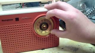 Rare? 1960 Westinghouse AM Transistor Radio - Model: H773P6