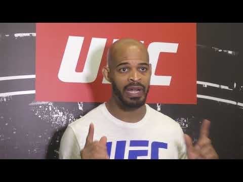 David Branch UFC Fight Night 116 Open Workout Media Scrum