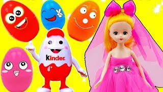 Baby Doll & Surprise Eggs Play for Kids