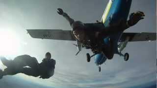 """Air Force Skydiving """"Wings of Blue"""""""