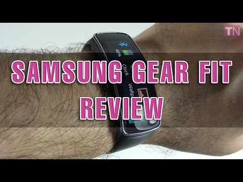 Samsung Gear Fit Review (Fitness & Sleep Tracker) - Tablet-News.com