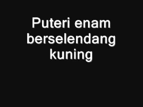 Ulek Mayang with lyrics