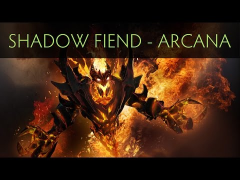 Dota 2 Shadow Fiend - Demon Eater (Arcana item)