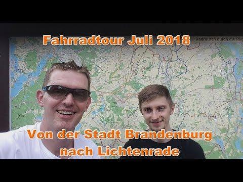 Fahrradtour Juli 2018 - Von der Stadt Brandenburg nach Lichtenrade