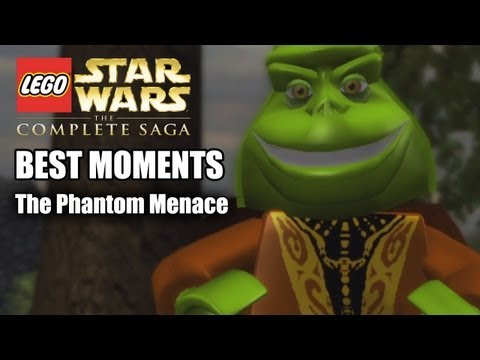 Lego Star Wars: Best Moments Of The Phantom Menace