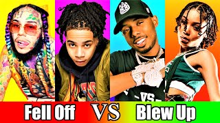 Rappers That Fell Off Vs. Rappers That Are Blowing Up (2021)