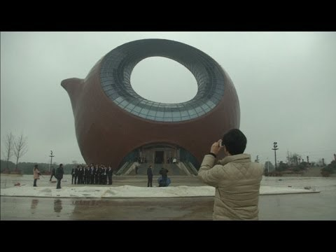 Giant teapot-shaped building to open in China