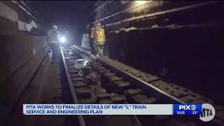 MTA works to finalize details of new L train service and engineering plan
