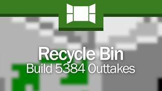 Recycle Bin: Windows Vista Build 5384 Outtakes