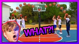 2HYPE Basketball Shooting RELAY RACE !! FT. Tristan Jass