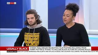 """Ever The Kikes"" Behind UK ""Legally Black"" Propaganda Campaign"
