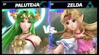 Super Smash Bros Ultimate Amiibo Fights   Request #1311 Palutena vs Zelda