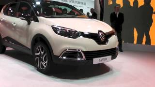Renault Captur, crossover compatto al Salone di Ginevra 2013