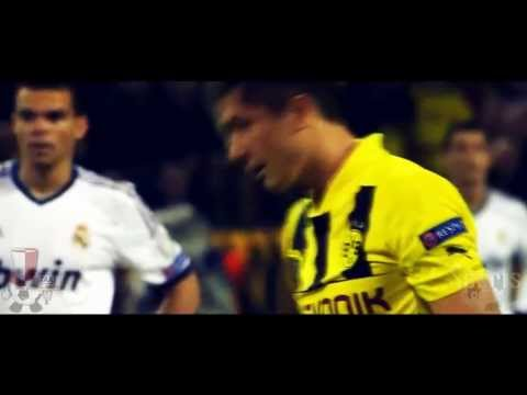 Robert Lewandowski - The best polish striker | 10 goals in Champions League 2012/13 [PL] [HD]