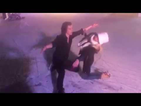 Harry Styles and Brianne Delcourt skate 'Bolero'