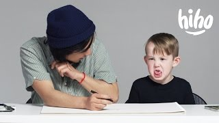 Kids Describe Love to an Illustrator