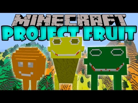 PROJECT FRUIT MOD - Dimensión de Cítricos - Minecraft mod 1.6.4. 1.7.2 y 1.7.10 Review ESPAÑOL
