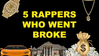 5 Rappers Who Went From Rags To Riches then Riches To Rags