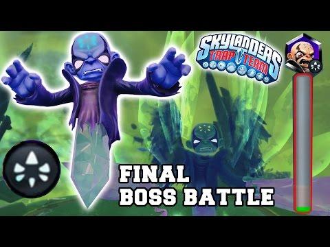 Skylanders Trap Team: Final Kaos Boss Battle! The Ultimate Weapon Ch. 18 (spoilers) Kaos Trap video