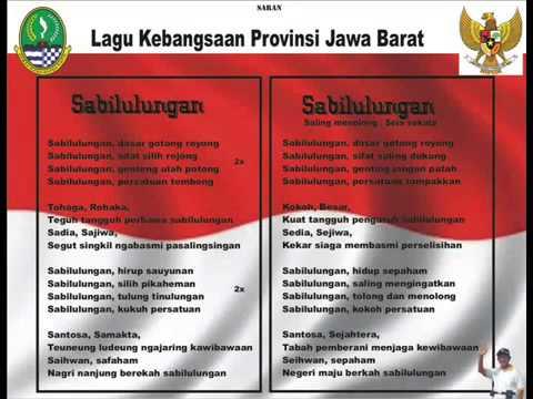 Lagu Kebangsaan Provinsi Jawa Barat - Sabilulungan video