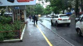 Piste contra bicicliștilor la teleCentrul Chișinăului