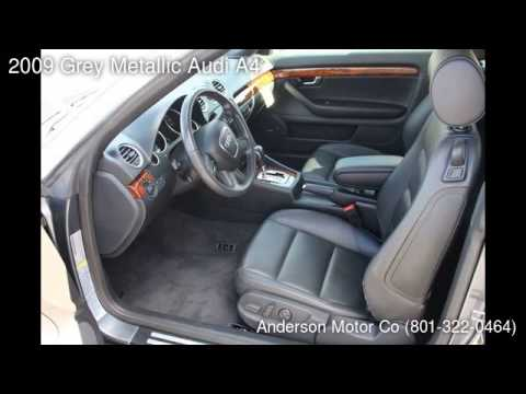 2009 Grey Metallic Audi A4 - Salt Lake City, UT 84111 - Anderson Motor Co (801-322-0464) - Used Cars