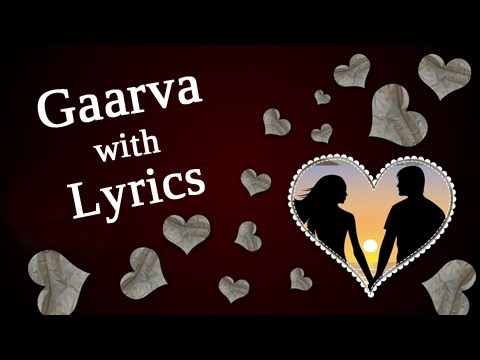 Gaarva Full Song With Lyrics - Marathi Romantic Song - Milind...