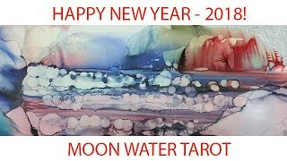 Leo Tarot Intuitive Love General Messages January 2018 - Moon Water Tarot