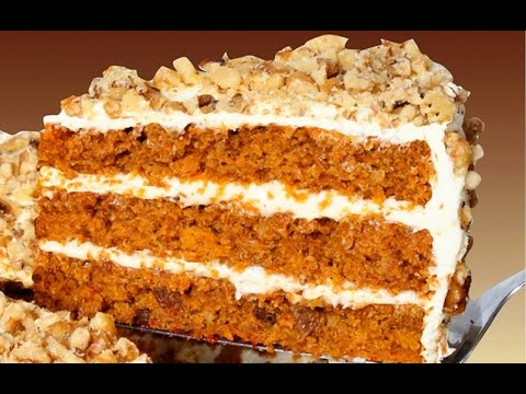 Receta de pastel de zanahoria y queso / Carrot cake recipe and cheese