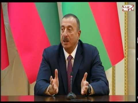 Prezident İlham Əliyev və Rosen Plevneliev mətbuata bəyanatlarla çıxış etdilər