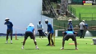 Team India's net session ahead of 3rd Test vs Sri Lanka