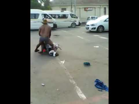 South African Man Steals Woman's Phone, Strips And Beat Her Up thumbnail