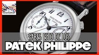 PATEK PHILIPPE: ¿POR QUÉ son tan COSTOSOS?