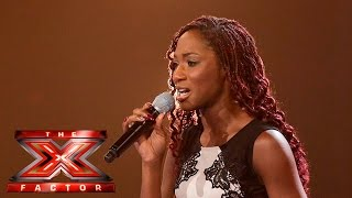 Can Tonatha do the Impossible and take a chair? | The X Factor UK 2015