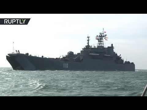 Mighty Maneuvers: Russia's enormous fleet conducts drills in Kaliningrad