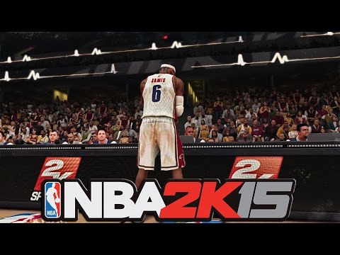 NBA 2K15 - Official LeBron James Cleveland Cavaliers Trailer and Gameplay