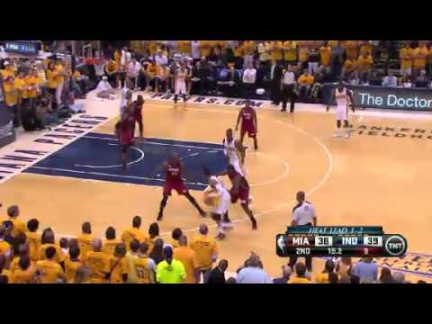NBA CIRCLE - Miami Heat Vs Indiana Pacers Game 6 Highlights - 1 June 2013 Eastern Final