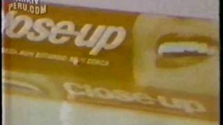 Comercial de Close-up (Perú, 1981)