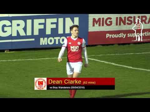 Goal: Dean Clarke (vs Bray Wanderers 06/04/2018)