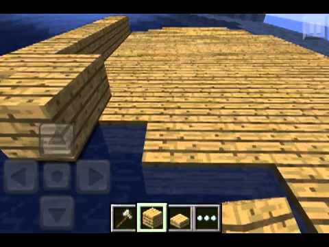 how to build a small ship in minecraft