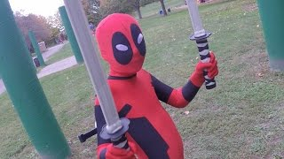 KID DEADPOOL vs. TWO BADDIES.  YOU WON