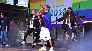 Lukas Rieger & Band Live @Cologne Pride 2018