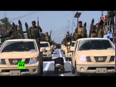 Mahdi Army military parade in Iraq