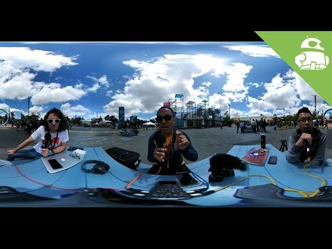 AA Podcast in 360 @ Google I/O 2016!
