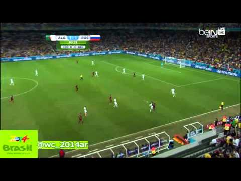 Algeria 1-1 Russia match complet