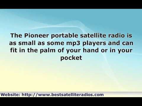 Pioneer Satellite Radio Receiver - a Sleek Gadget