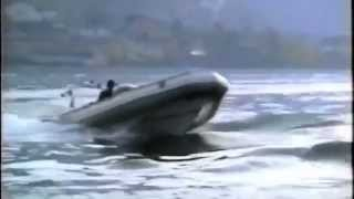 Small Marine RIB with a F1 Engine! 300 hp!